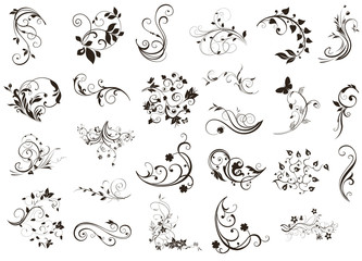 Flourish design elements