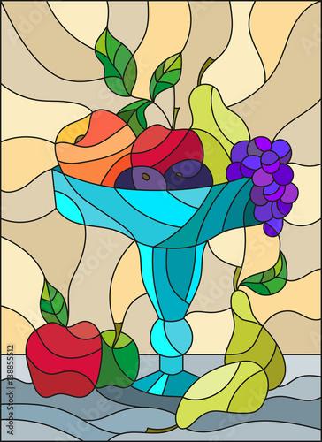 ilustracja-w-stylu-witrazu-z-martwa-natura-owoce-i-jagody-w-wazonie-niebieski