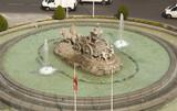 Plaza de Cibeles in Madrid, Spain