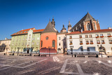 Krakow / small marketplace of the historical center