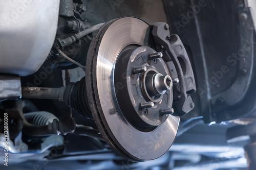 Car brake disc - 138880389