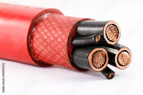 Poster High voltage cable