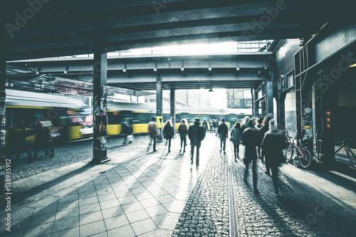 Poster Berlijn Epic Urban Scenery - Berlin