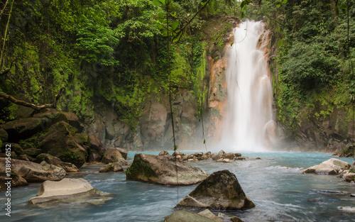 Cascada del Rio Celeste