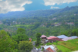 village in the mountains, Bedugul, Bali, Indonesia