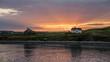 sunrise Halifax harbor