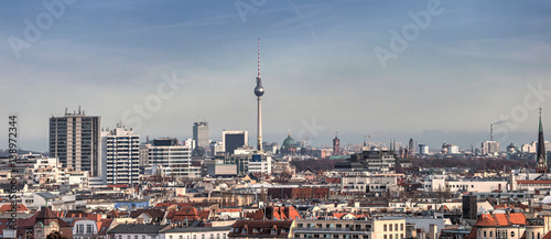 Fototapeta Berlin skyline Panorama