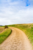 Pathway through Countryside, Isle of Wight