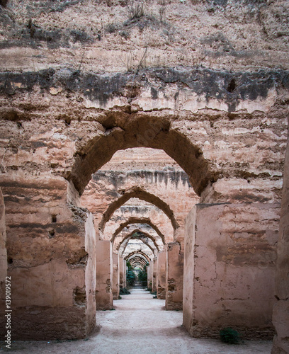 Ancient ruins in Morocco