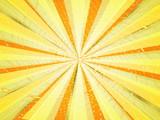 абстрактный фон в желтых тонах в виде лучей и свечения