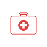 First aid kit outline icon - 139062160