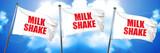 milkshake, 3D rendering, triple flags
