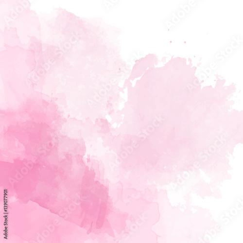 rozowy-akwarela-tlo-wektor