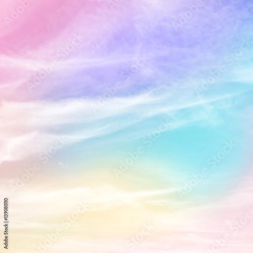 Pastelowe tęczy kolorowe tło