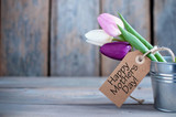 Fototapety Mothers day gift flowers