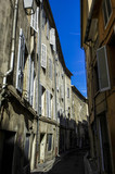 Aix en Provence, narrow alley in Old Town, France, Provence