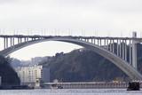 Landscape of the river douro to the porto city