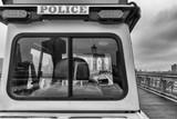 Police at the Brooklyn Bridge