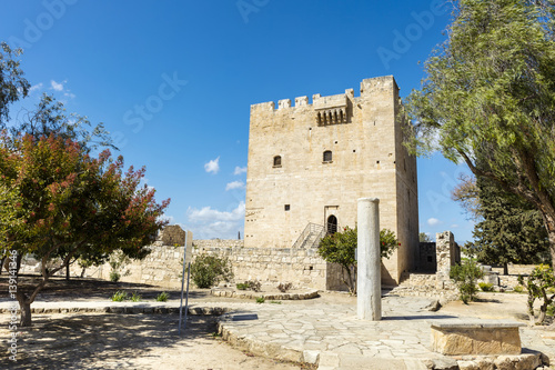The medieval castle of Kolossi near Limassol in Cyprus Poster