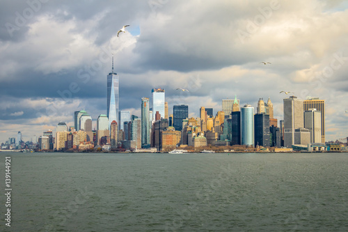 Lower Manhattan Skyline - New York, USA Poster