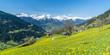 Quadro Frühling in den Alpen