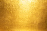Gold concrete wall on background texture. - 139166197