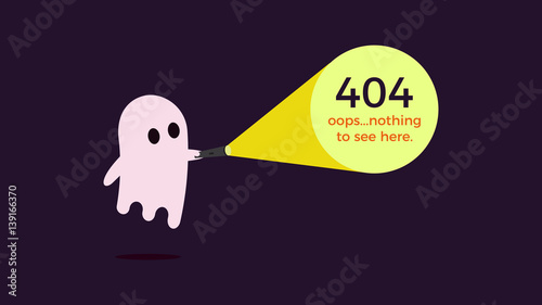 illustration for 404 error vector concept design for page 404 page
