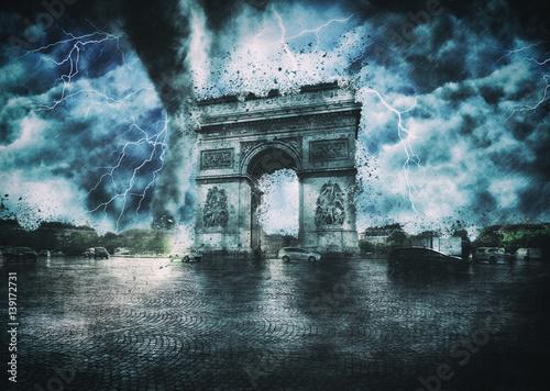 Arc de Triomphe destroyed | Apocalypse in Paris