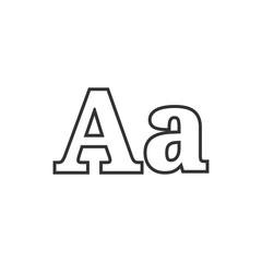 BW icon - Font