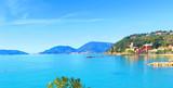 View of San Terenzo, Liguria, Italy