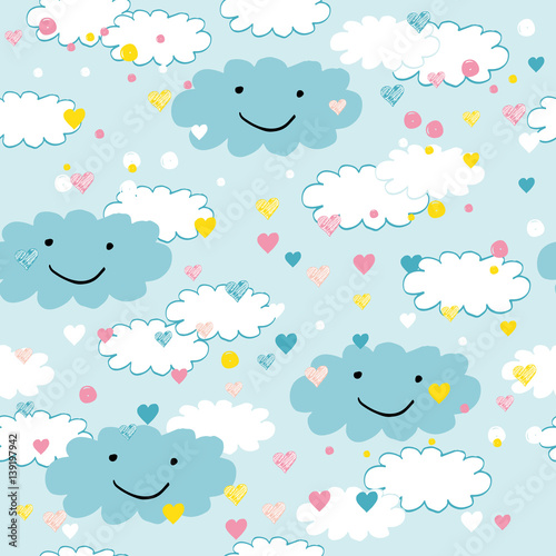 Cotton fabric Children's pattern