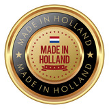 Made in Holland badge