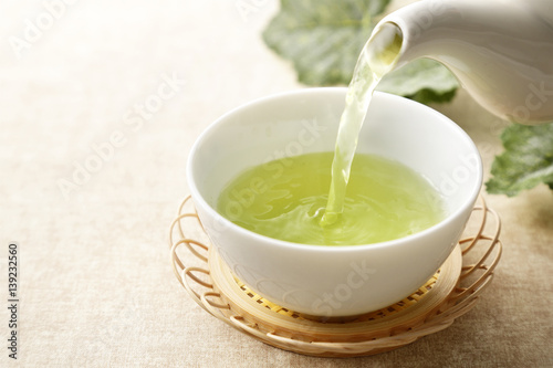緑茶 Japanese green tea Poster
