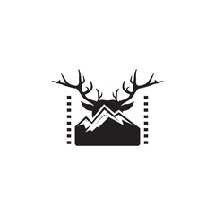 mountain and deer, movie