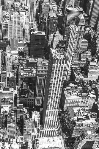 Papiers peints New York New York City Manhattan skyline aerial view