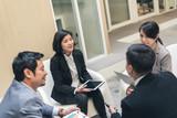 business team discuss