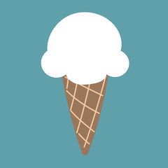 cute ice cream cloud