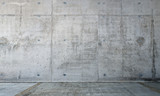 the concrete wall and empty room - 139297179