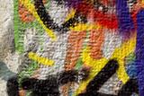 Renkli Duvar Dokusu