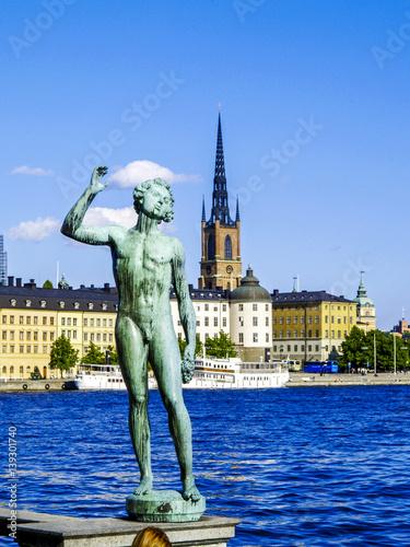 Plexiglas Stockholm Stockholm, Riddarholmskyrkan, Riddarholmschurch, Sweden, Riddarh