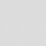 Technology Mandala - abstract dotted circle background