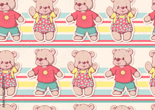 Fototapeta Teddy bears