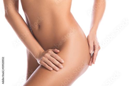 Leinwanddruck Bild Perfect female body