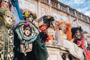 Masks, Venetian Carnival 2017