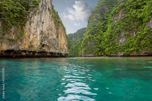 Poster Phi Phi island in Thailand