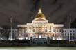 Massachusetts State House, Night View