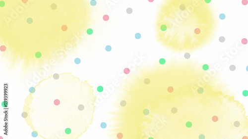 pink blue green tone color abstract vector background, look like watercolor drop style - 139399923