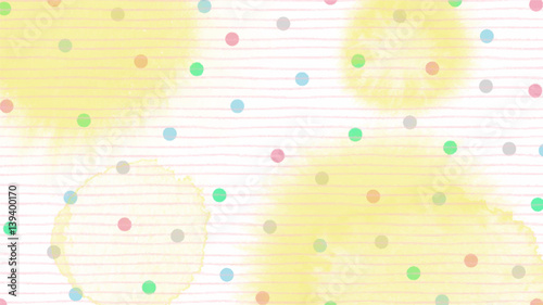 pink blue green tone color abstract vector background, look like watercolor drop style - 139400170