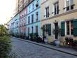 Colorful houses in Rue Crémieux, Paris