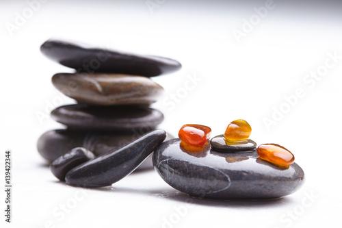 sea stones Poster